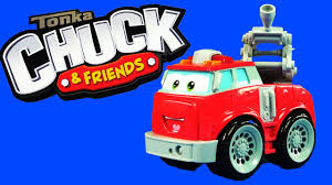 99 Chuck And Friends Tonka Trucks TONKA CHUCK AND FRIENDS BOOMER THE FIRE TRUCK HASBRO KIDS TOY YouTube