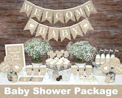 Baby Boy Favors Shower Best Decorations Ideas On Rustic Neutral