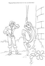 Disney Baby Rapunzel Coloring Pages Tangled Princess Colouring