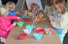 These Pipe Cleaner Wands Are The Perfect Open Ended Craft For A Group Of Children