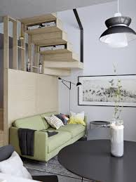 100 Level Studio Amazingly Tiny Twolevel Studio Apartment With A Sleeping Loft