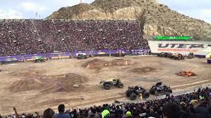 100 Monster Trucks El Paso Max D Jam 2015 YouTube