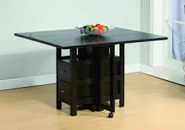 Drop Leaf Dining Table With Storage For Motorhomes Campers And Travel Trailers