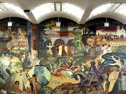 Denver International Airport Murals Painted Over by Refurbished Mural Restored To San Jose Airport Cbs San Francisco