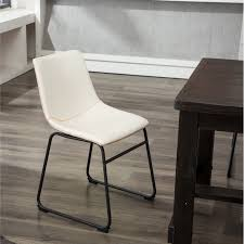 Shop Carbon Loft Inyo PU Leather Dining Chairs (Set Of 2) - Free ...
