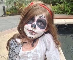 Easy Sugar Skull Day Of by Day Of The Dead Face Paint My Kid Craft