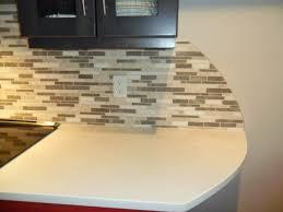 glass mosaic tile backsplash edge amazing tile