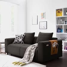 studio copenhagen sofa finny schwarz braun webstoff modern