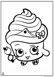 Cupcake Coloring Pages Food Online Free