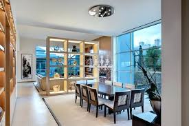Dining Room Divider Glamorous Shelf Dividers In Contemporary With Cool For