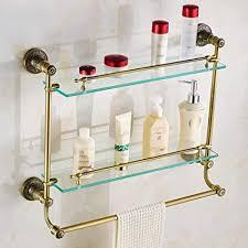 ayhuir badezimmer regale gehärtetes glas duschregal einzel