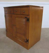 Ethan Allen Maple Dry Sink by Ethan Allen Maple Cabinets U0026 Cupboards Ebay