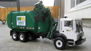 Custom First Gear Garbage Truck - 1:34 Scale Heil CP Python -