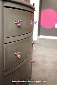 Pink Dresser Knobs Target by The Girls U0027 Room Progress 1 2 A Painted Nightstand Because I