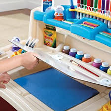 Step2 Art Easel Desk Canada by Amazon Com Step2 Deluxe Art Master Kids Desk Toys U0026 Games