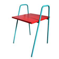 bureau enfant metal table bureau enfant en bois et pied métal nomad 2 coloris