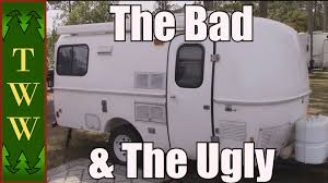 My Casita Travel Trailer The Bad Ugly