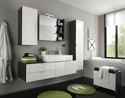badmöbel set modern mit waschbecken weiß hochglanz grau bad
