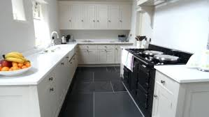 Engaging Black Ande Kitchen Floor Ideas Designs Vinyl Tile And White Floors Best With Cabinets
