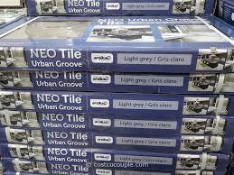 neo tile groove light grey porcelain tile