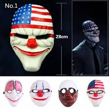 Payday 2 Halloween Masks Unlock by Clown Mask Make Your Awesome Halloween Party More Fun