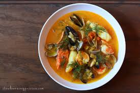 Bouillabaisse Is A Traditional Mediterranean Fishermans Stew From The Provincial Port City Of Marseilles