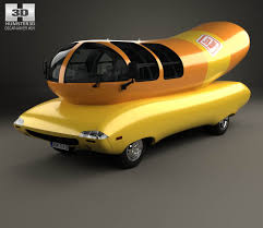 Oscar Mayer Wienermobile 2012 3D Model - Hum3D