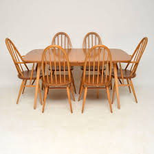 1960s Vintage Ercol Grand Windsor Dining Table & Six Chairs Graystone Trestle Ding Room Set Four Ding Room Chairs In A Houndstooth Pattern Upholstery Mid Century Modern Teak Mcintosh Chairs 70s Lidia I Sixties Fniture Is Making Comeback With Surging Prices Of Extendable Table And 6 Teak Black Leatherette 1970s Boscov S Table Awesome Sets Harvey Norman Ireland Jayla Upholstered Chair Meredew Extending Cw11 Wheelock Retro Smoked Glass Bhaus Style Acocks Green West Midlands Gumtree Small Boy At Seventies Wooden