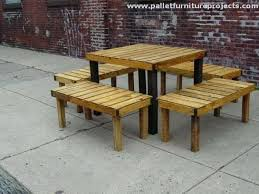 Furniture Made With Pallets Patio From