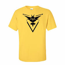 2016 pokemon go shirt team instinct mystic valor funny t shirt