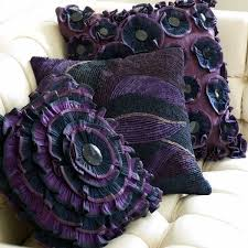 20 Creative Decorative Pillows Craft Ideas Playing with Texture