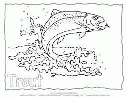 2017 Coloring Freshwater Fish Pages On A To Z
