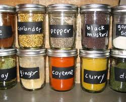 Diy Kitchen Spice Storage Mason Jars Decor Handmade F75884