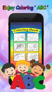 ABC Letter Coloring Book Preschool Learning Game On The App Store