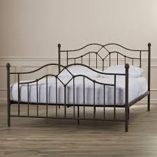 Wayfair Metal Queen Headboards by Brown Wrought Iron Headboards With Bed Frames Plus King Elegant