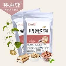 Huai Shan Source Yam Gorgon Barley Flour 300g Bag Powder
