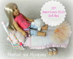 DIY American Girl Doll Bed Meatloaf and Melodrama