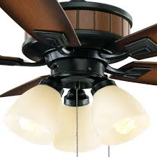 Hampton Bay Ceiling Fan Shades by Hampton Bay Riverwalk Natural Iron Ceiling Fan With Shatter Shades