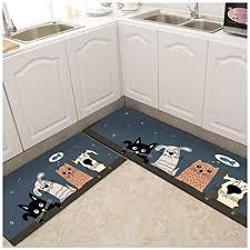 de jcsw küchenteppich läufer küchenläufer waschbar