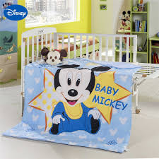 Snoopy Crib Bedding Set by Online Buy Wholesale Mickey Mouse Crib Bedding From China Mickey