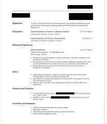 First Resume No Work Experience Template Time With Samples Write