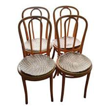Thonet Bentwood Chair Cane Seat by Gently Used Thonet Furniture Up To 50 Off At Chairish