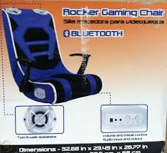 Rocker Gaming Chair With Bluetooth And Armrests 400-12-00K ... Gurugear 21channel Bluetooth Dual Gaming Chair Playseat Bluetooth Gaming Chair Price In Uae Amazonae Brazen Panther Elite 21 Surround Sound Giantex Leisure Curved Massage Shiatsu With Heating Therapy Video Wireless Speaker And Usb Charger For Home X Rocker Vibe Se Audi Vibrating Foldable Pedestal Base High Tech Audio Tilt Swivel Design W Adrenaline Xrocker Connectivity Subwoofer Rh220 Beverley East Yorkshire Gumtree Pro Series Ii 5125401 Black