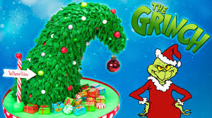 Rice Krispie Christmas Trees Recipe by Grinch Christmas Tree Cake How The Grinch Stole Christmas Cake