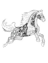 Barbie Horse Coloring Pages Free Download Works Publishing Adult Book Spirit Games Pictures Full Size