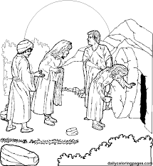 Jesus Died On Cross Coloring Page The
