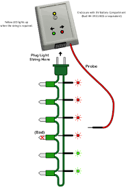 Fixing Christmas Tree Lights Fuse by Bad Bulb Finder Fixes Christmas Lights Edn