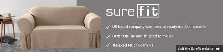 Sure Fit Dining Chair Slipcovers Uk by Sure Fit Us Based Slip Covers Cover My Furniture