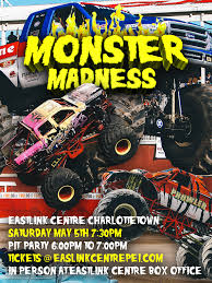Eastlink Centre Charlottetown — Monster Madness Tour Monster Jam World Finals 18 Trucks Wiki Fandom Powered Jurassic Attack By Wikia Amazoncom Truck Maniac Novelty Tshirt Clothing Test Remo 1631 116th 390 Brushed Car Dronemaniac Smashes Into Wichita For Three Weekend Shows The My Monster Jam Trucks Amino Creativity Kids Custom Shop Hot Wheels Year 2017 124 Scale Die Cast Truck Home Facebook Play Jack Game Online Games For Children To These Unbelievable Saves Will Convince You Are Amazing