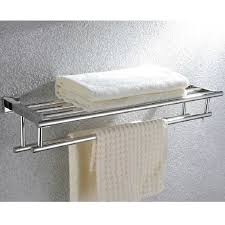 Bath Shelves With Towel Bar by Popular Stainless Steel Bathroom Towel Rack Buy Cheap Stainless
